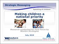 Westen - Making Children a National Priority