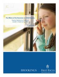 Child Poverty 2008-2009