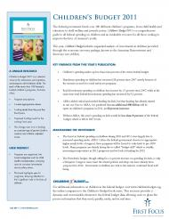 Childrens-Budget-2011-FactSheet