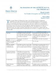 ACHIEVE ACT vs. DREAM Act_Page_1