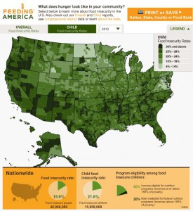 Meal Gap Map