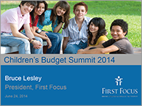 Children's Budget Summit 2014 Presentation