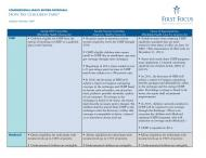Congressional Health Reform Proposals SBS