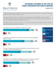 Poll - Children in Health Reform