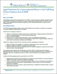 Legal Protections for Unaccompanied Minors in the Trafficking Victims Protection Act of 2008