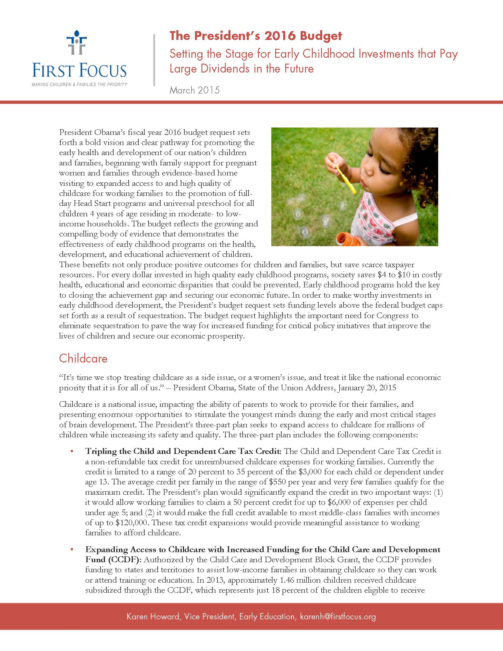 Early Childhood in the Presiden's Budget_Page_1