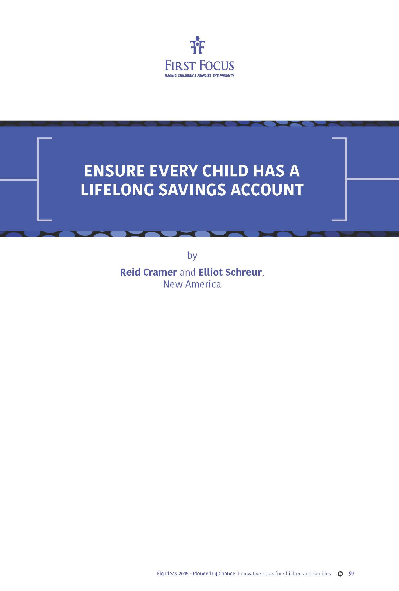 Ensure Every Child Has a Lifelong Savings Account_Page_1