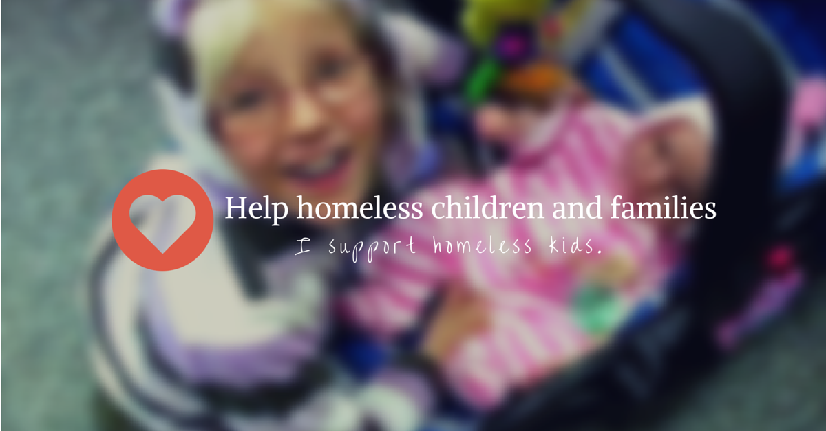 Help homeless children and families