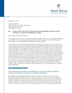 head start performance standards pdf
