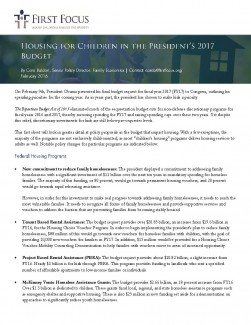Housing for Children in the President's 2017 Budget_Page_1