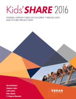 Kids Share 2016 report cover