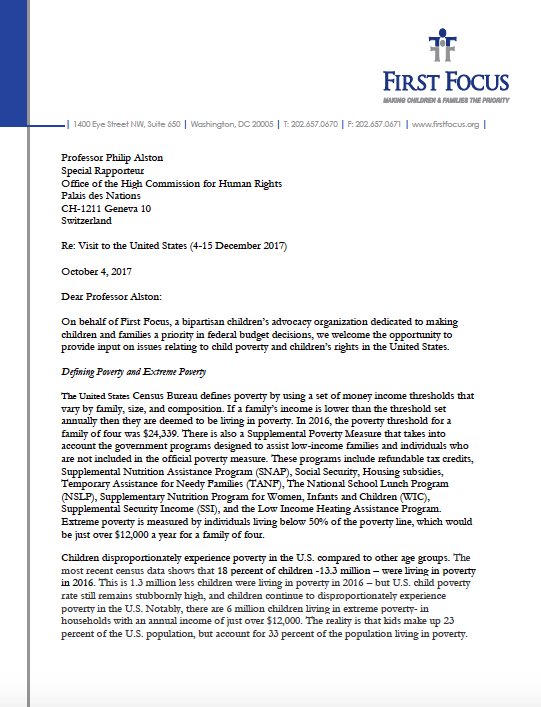Letter to office of the high commissioner for human rights - Office for the high commissioner for human rights ...
