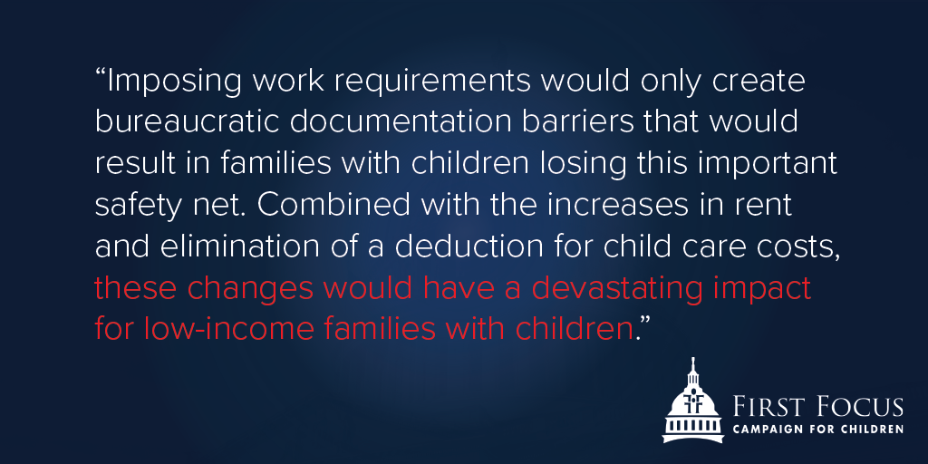 New HUD Proposals Are the Wrong Direction for Children